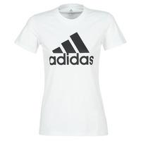 Υφασμάτινα Γυναίκα T-shirt με κοντά μανίκια adidas Performance BOS CO TEE Άσπρο