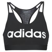 Υφασμάτινα Γυναίκα Αθλητικά μπουστάκια  adidas Performance E BT Black