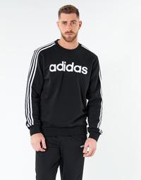 Υφασμάτινα Άνδρας Φούτερ adidas Performance E 3S CREW FL Black
