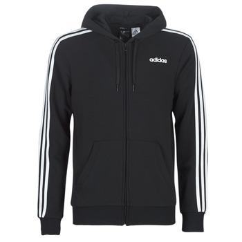 Υφασμάτινα Άνδρας Φούτερ adidas Performance E 3S FZ FT Black