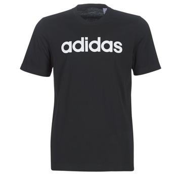 T-shirt με κοντά μανίκια adidas E LIN TEE Σύνθεση: Βαμβάκι