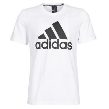 Υφασμάτινα Άνδρας T-shirt με κοντά μανίκια adidas Performance MH BOS Tee Άσπρο