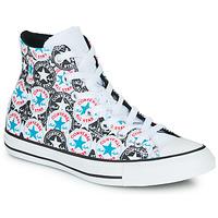 Παπούτσια Γυναίκα Ψηλά Sneakers Converse CHUCK TAYLOR ALL STAR LOGO PLAY Άσπρο / Black / Multi