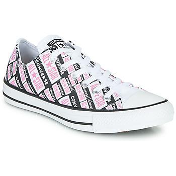 Παπούτσια Γυναίκα Ψηλά Sneakers Converse CHUCK TAYLOR ALL STAR LOGO PLAY Άσπρο / Ροζ / Black