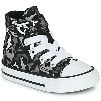 Παπούτσια Αγόρι Ψηλά Sneakers Converse CHUCK TAYLOR ALL STAR 1V SHARK BITE Black / Multi