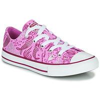 Παπούτσια Κορίτσι Ψηλά Sneakers Converse Chuck Taylor All Star Underwater Party Ροζ / Multi