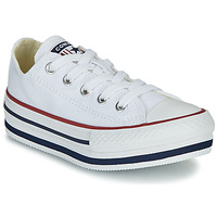 Παπούτσια Κορίτσι Ψηλά Sneakers Converse CHUCK TAYLOR ALL STAR PLATFORM EVA EVERYDAY EASE Άσπρο