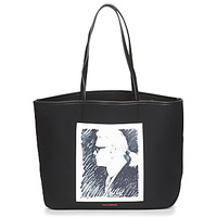Τσάντες Cabas / Sac shopping Karl Lagerfeld KARL LEGEND CANVAS TOTE Black