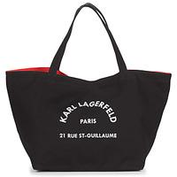 Τσάντες Γυναίκα Cabas / Sac shopping Karl Lagerfeld RUE ST GUILLAUE CANVAS TOTE Black