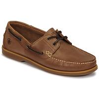Παπούτσια Άνδρας Boat shoes Lumberjack NAVIGATOR Brown