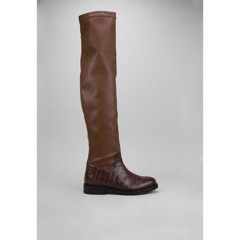 Παπούτσια Γυναίκα Ψηλές μπότες Roberto Torretta  Brown
