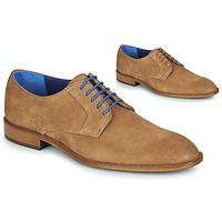 Παπούτσια Άνδρας Derby Azzaro ZENOU Cognac
