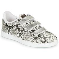 Παπούτσια Γυναίκα Χαμηλά Sneakers Victoria TENIS SERPIENTE VELCRO Grey