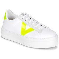 Παπούτσια Γυναίκα Χαμηλά Sneakers Victoria BARCELONA LONA Άσπρο