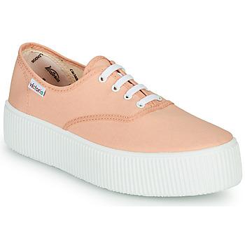 Παπούτσια Γυναίκα Χαμηλά Sneakers Victoria DOBLE LONA Corail