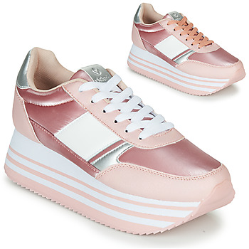 Παπούτσια Γυναίκα Χαμηλά Sneakers Victoria COMETA DOBLE METAL Ροζ