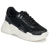 Παπούτσια Γυναίκα Χαμηλά Sneakers Victoria TOTEM Black / Άσπρο