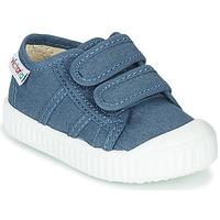 Παπούτσια Παιδί Χαμηλά Sneakers Victoria BASKET VELCRO Μπλέ
