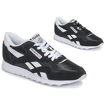 Παπούτσια Γυναίκα Χαμηλά Sneakers Reebok Classic CL NYLON Black