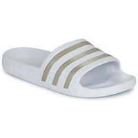 Παπούτσια Γυναίκα σαγιονάρες adidas Performance ADILETTE AQUA Άσπρο