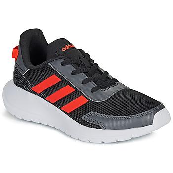 Παπούτσια Αγόρι Χαμηλά Sneakers adidas Performance TENSAUR RUN K Black / Red