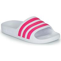 Παπούτσια Κορίτσι σαγιονάρες adidas Performance ADILETTE AQUA K Άσπρο / Ροζ