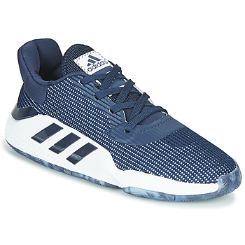 Παπούτσια Άνδρας Basketball adidas Performance PRO BOUNCE 2019 LOW Marine / Άσπρο