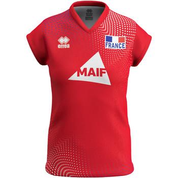 Υφασμάτινα Γυναίκα T-shirt με κοντά μανίκια Errea Maillot femme third Equipe de france 2020 rouge