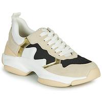 Παπούτσια Γυναίκα Χαμηλά Sneakers Mam'Zelle HELIUM Άσπρο / Beige / Black