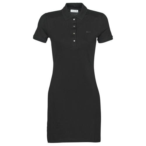 Υφασμάτινα Γυναίκα Κοντά Φορέματα Lacoste GAIL Black