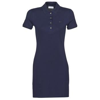 Υφασμάτινα Γυναίκα Κοντά Φορέματα Lacoste SOLENE Marine