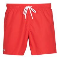 Υφασμάτινα Άνδρας Μαγιώ / shorts για την παραλία Lacoste JEANNAH Red