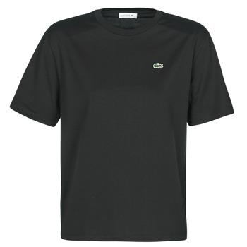 Υφασμάτινα Γυναίκα T-shirt με κοντά μανίκια Lacoste BERNARD Black