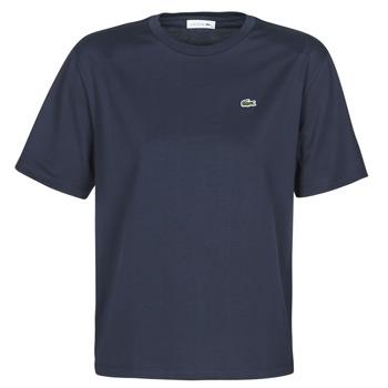 Υφασμάτινα Γυναίκα T-shirt με κοντά μανίκια Lacoste ELOI Marine