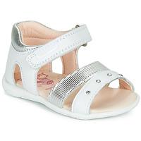 Παπούτσια Κορίτσι Σανδάλια / Πέδιλα Pablosky  Άσπρο / Silver
