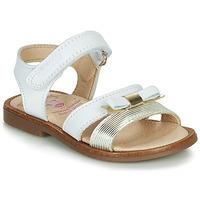 Παπούτσια Κορίτσι Σανδάλια / Πέδιλα Pablosky LOLLA Άσπρο / Gold