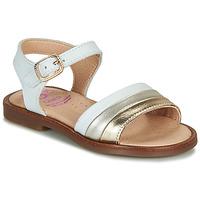 Παπούτσια Κορίτσι Σανδάλια / Πέδιλα Pablosky  Άσπρο / Gold