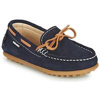 Παπούτσια Αγόρι Μοκασσίνια Pablosky  Marine / Camel