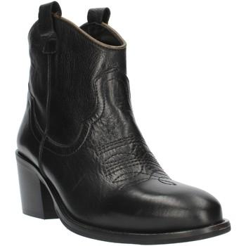Παπούτσια Γυναίκα Μποτίνια Exton MZ40 Black