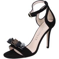 Παπούτσια Γυναίκα Σανδάλια / Πέδιλα Lella Baldi BP10 Μαύρος