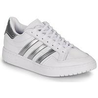 Παπούτσια Γυναίκα Χαμηλά Sneakers adidas Originals MODERN 80 EUR COURT W Άσπρο / Argenté