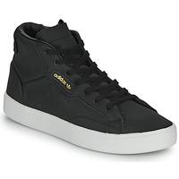 Παπούτσια Γυναίκα Ψηλά Sneakers adidas Originals adidas SLEEK MID W Black