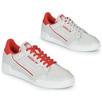 Παπούτσια Χαμηλά Sneakers adidas Originals CONTINENTAL 80 Beige / Red