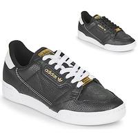 Παπούτσια Γυναίκα Χαμηλά Sneakers adidas Originals CONTINENTAL 80 Black