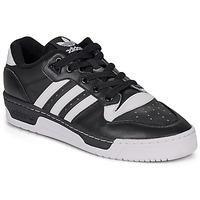 Παπούτσια Άνδρας Χαμηλά Sneakers adidas Originals RIVALRY LOW Black / Άσπρο