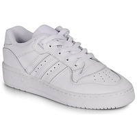 Παπούτσια Γυναίκα Χαμηλά Sneakers adidas Originals RIVALRY LOW W Άσπρο