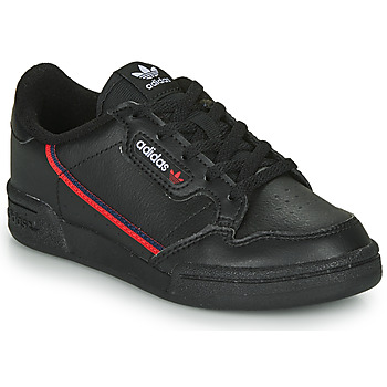 Παπούτσια Παιδί Χαμηλά Sneakers adidas Originals CONTINENTAL 80 C Black