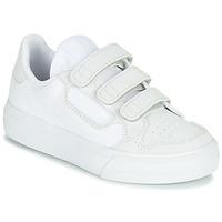 Παπούτσια Παιδί Χαμηλά Sneakers adidas Originals CONTINENTAL VULC CF C Άσπρο / Beige