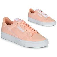 Παπούτσια Κορίτσι Χαμηλά Sneakers adidas Originals CONTINENTAL VULC J Ροζ