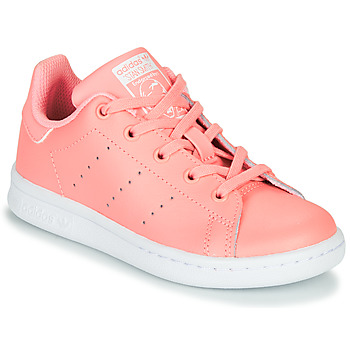 Παπούτσια Κορίτσι Χαμηλά Sneakers adidas Originals STAN SMITH C Ροζ